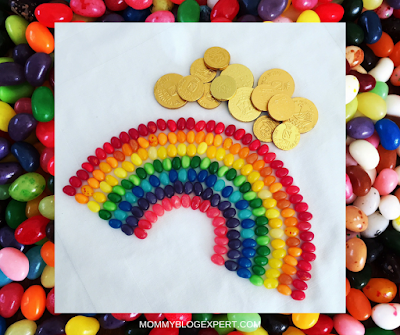 Jelly Bean Edible Rainbow Kids Craft
