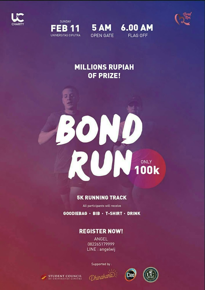 Bond Run • 2018