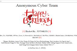 Situs Dewan Pers Diretas,Hacker Rayakan Ulang Tahun.