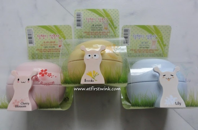 the Saem snail hand creams