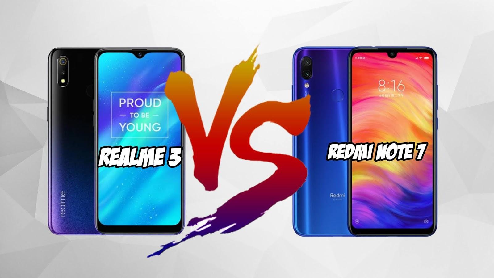 4 Keunggulan Realme 3 Dibanding Redmi Note 7