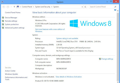 Windows 8 Professional+Enterprise 32/64 Bit+Keys (4 in 1 iso)