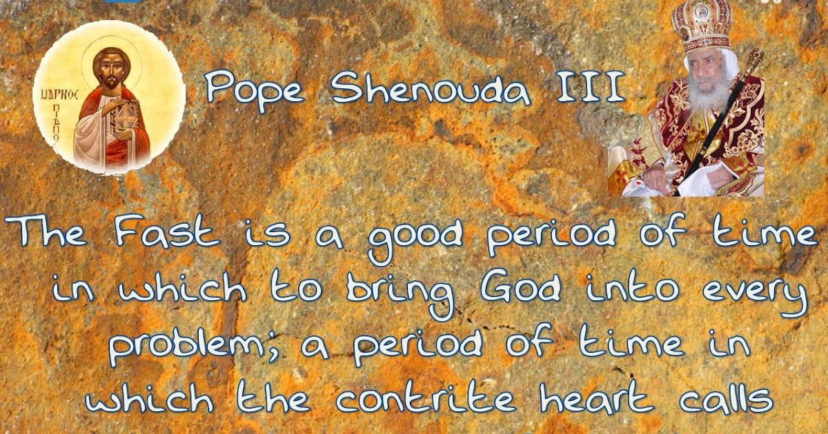 Orthodox Societies Pope Shenouda Iii Quotes