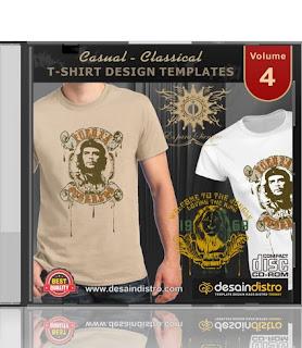 2000 Template Desain Kaos Distro