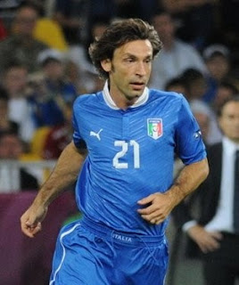 Andrea Pirlo made 119 career appearances for the Italian national team