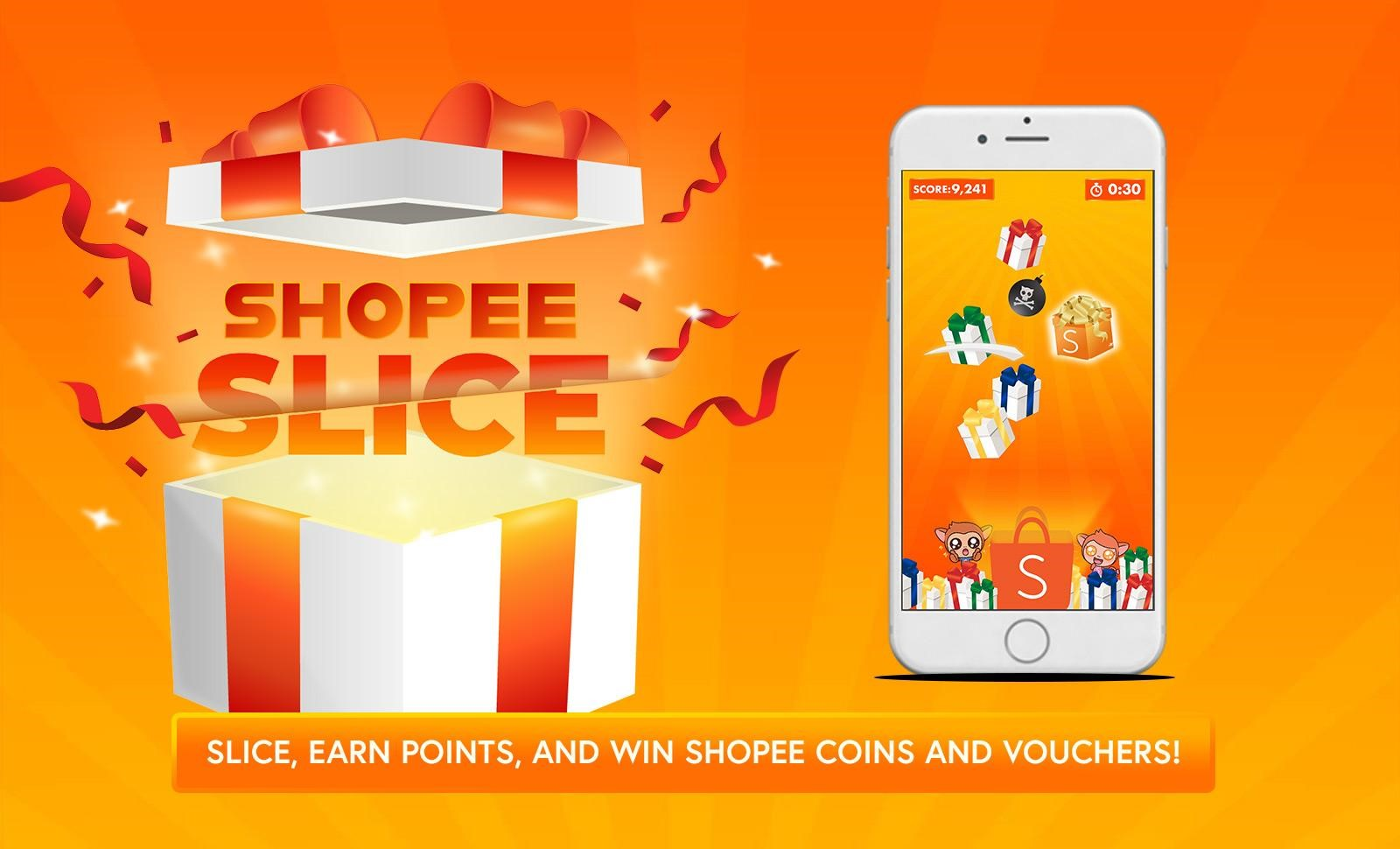 Shopee Launches Shopee Slice In-App Game, Mega Orange Day