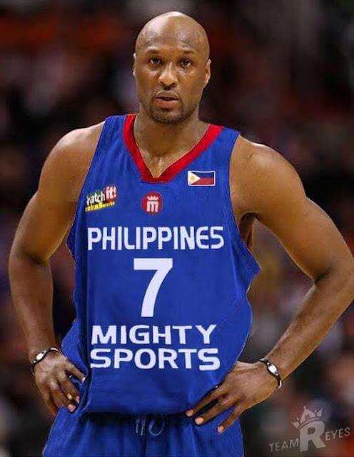 62467bc0cc1 NBA Veteran Lamar Odom to play for Philippines in Dubai Tournament ...