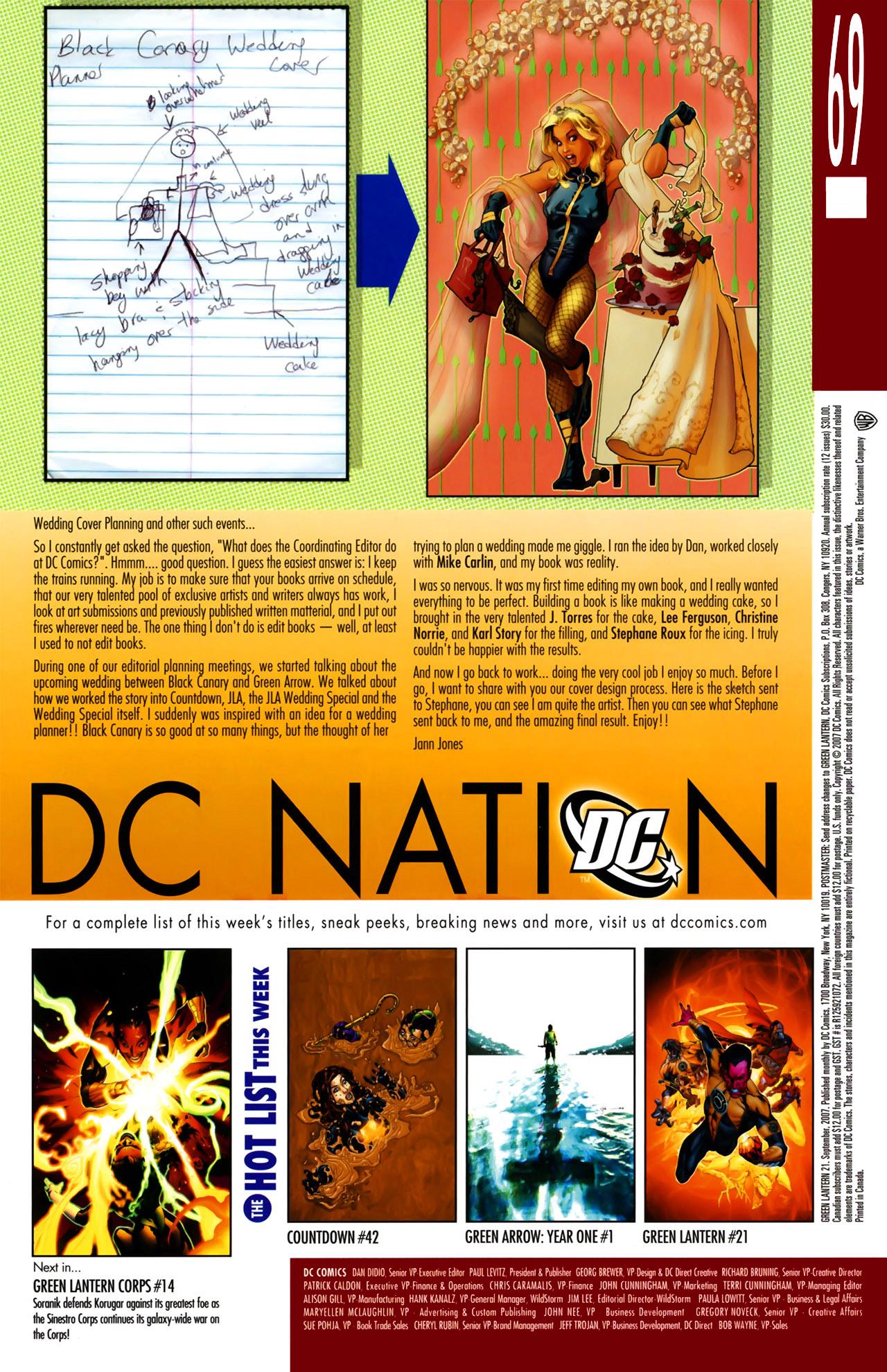 Green Lantern (2005) 21 Page 20