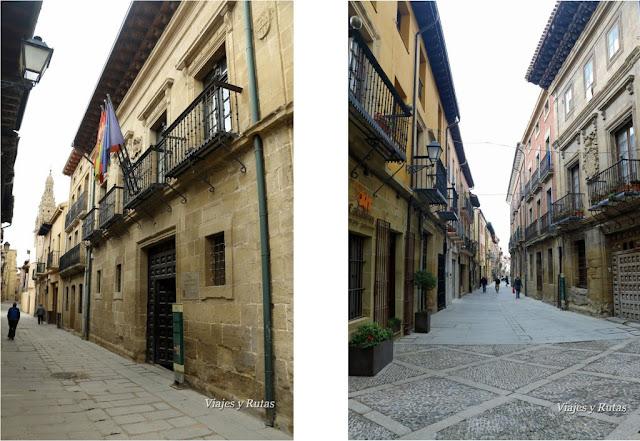Calle Mayor de santo Domingo de la Calzada, La Rioja