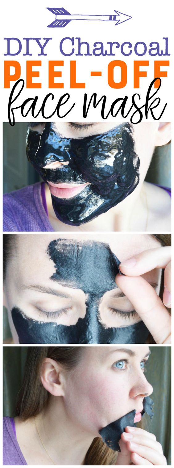 DIY Peel-Off Charcoal Mask