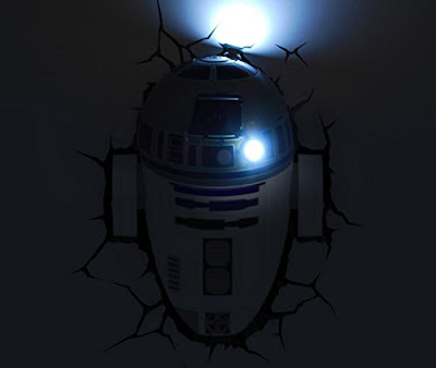 Starwars R2-D2 3D Deco Light