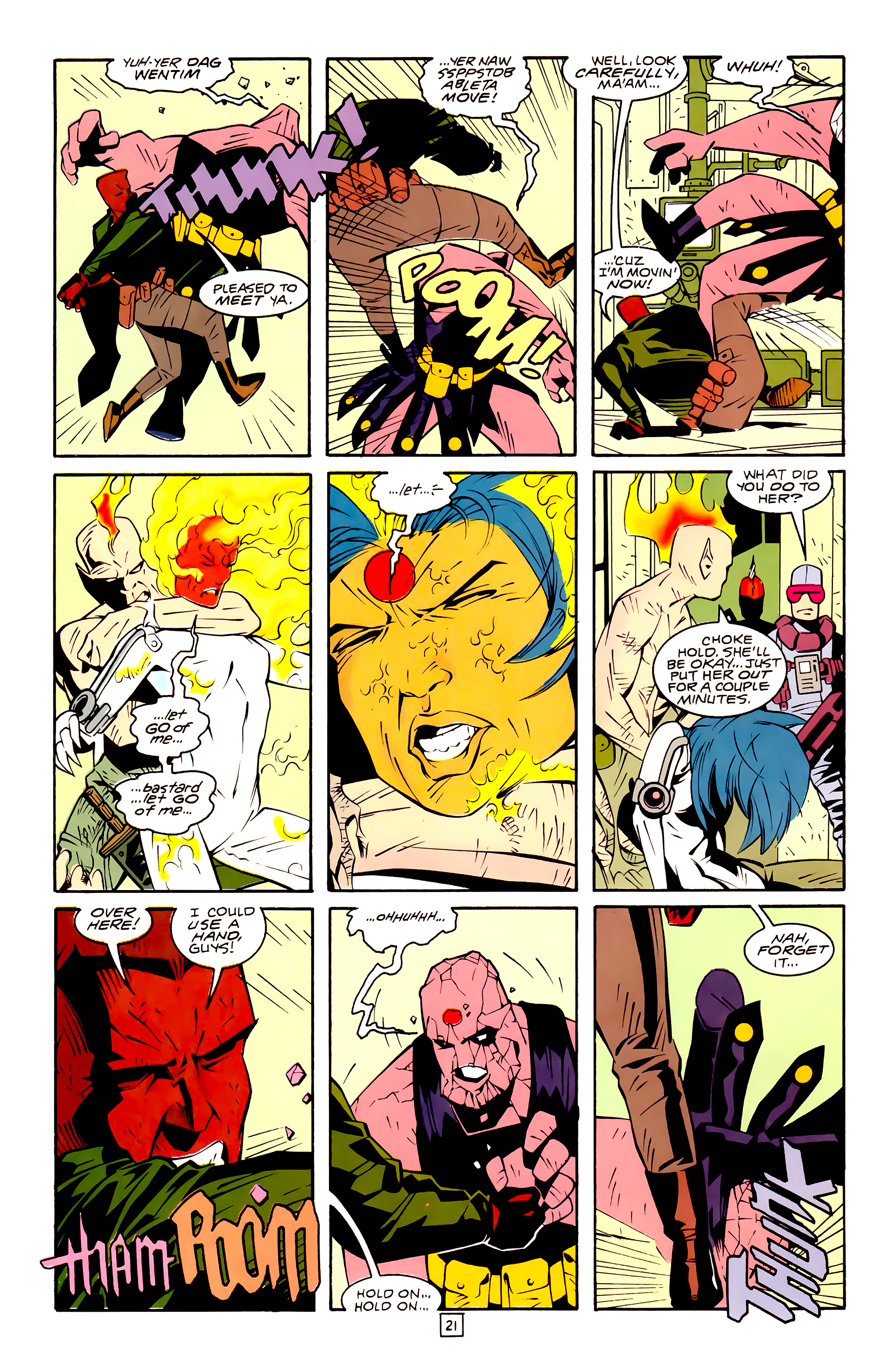 Legion of Super-Heroes (1989) 30 Page 21