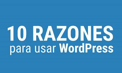 Buenas Razones Para Utilizar WordPress
