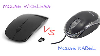 Mouse Wireless vs Mouse Kabel