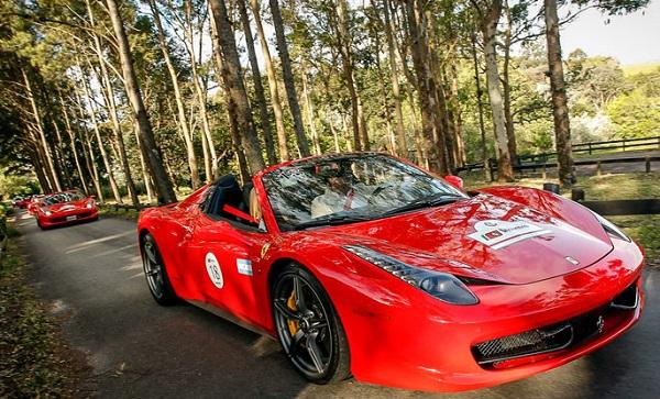 Incontro Ferrari Sudamerica Argentina
