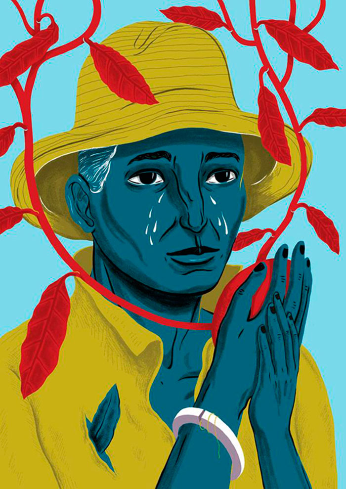 Ilustración, Don`t cry de Yaimel López