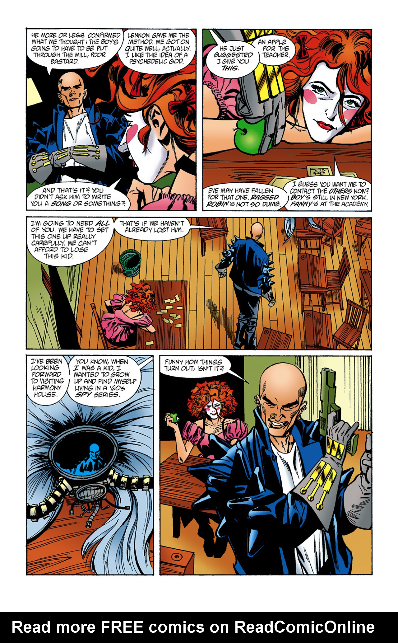 The Invisibles (1994) 1 Page 27