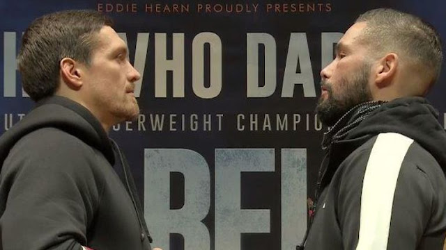 Oleksandr Usyk : How Much Do You want It - Tony Bellew