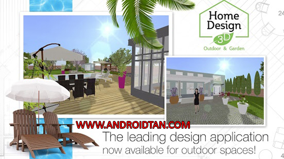 Free Download Home Design 3D Mod Apk + Data v4.0.8 Premium Gold Edition Android Terbaru 2017