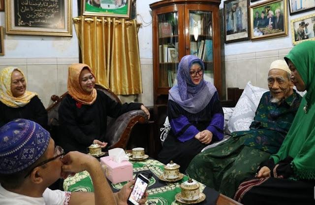 Keluarga Cendana Sowan ke Rembang, Mbah Moen: Yang Diperlukan Indonesia Saat Ini Islaminasional