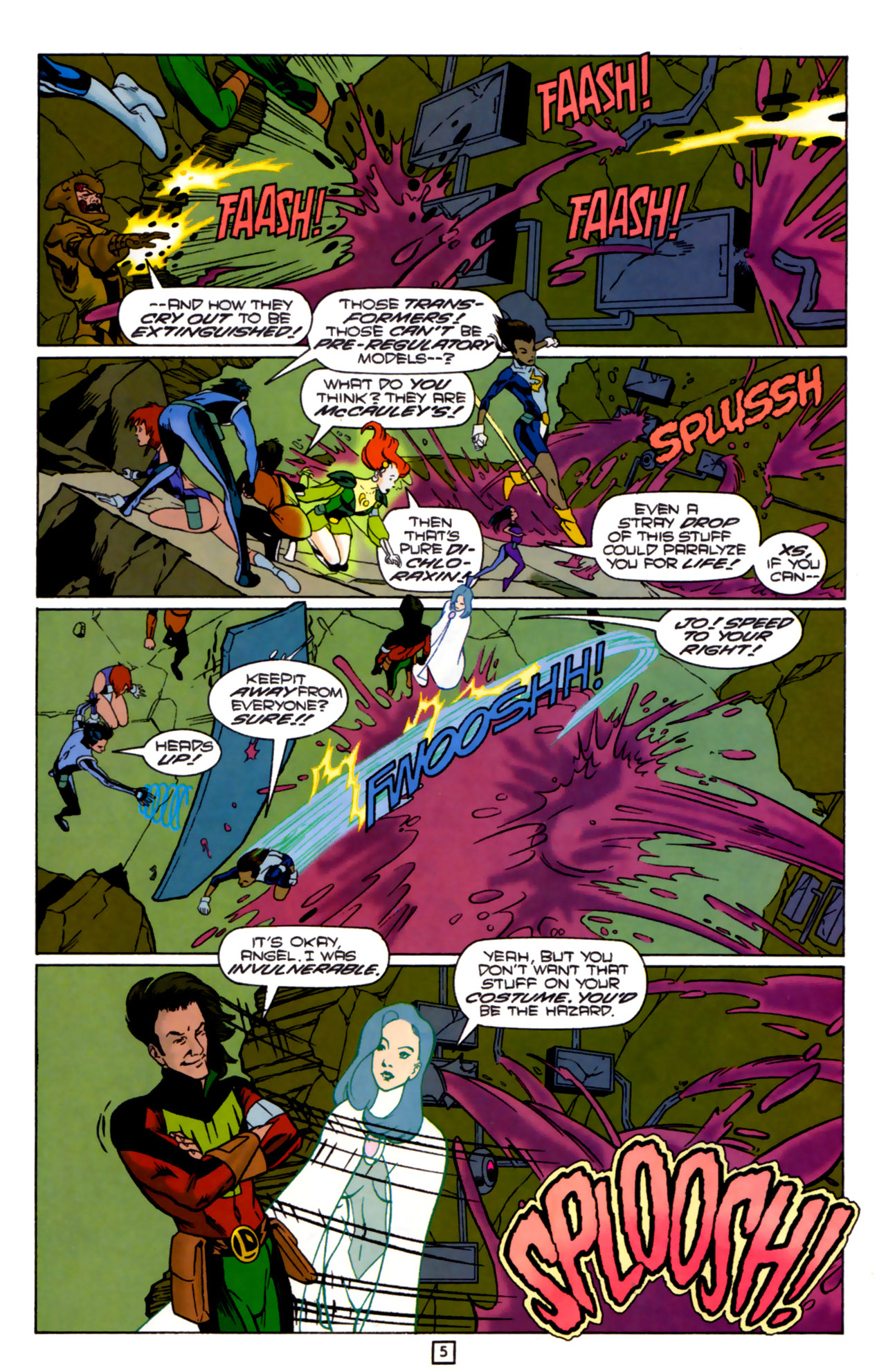 Legion of Super-Heroes (1989) 83 Page 4