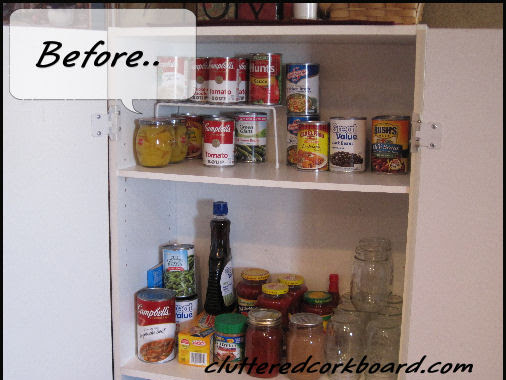 Pantry Makeover..
