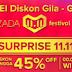 Diskon Gila Huawei Spesial Hari Belanja 11-11