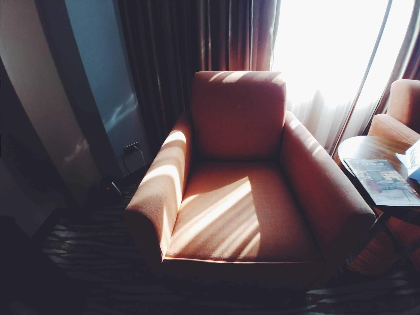 Couch at Acacia Hotel
