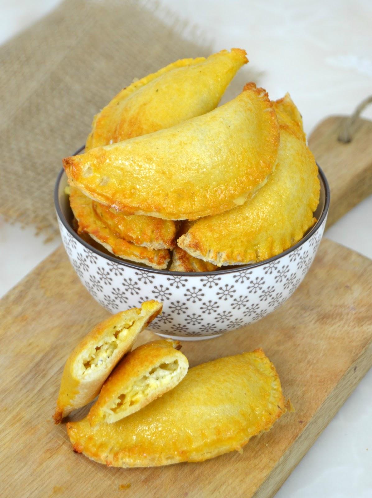 Empanadillas de queso con pan de molde  Cuuking Recetas