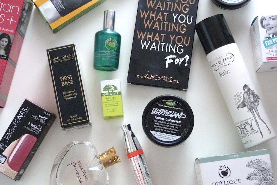 an image of top beauty products of 2014