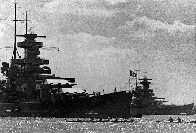 15 March 1941 worldwartwo.filminspector.com Scharnhorst Gneisenau