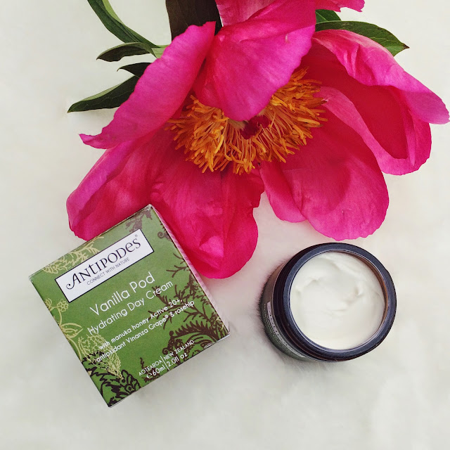 Antipodes Hydrating Vanilla Pod Day Cream review, FashionFake, UK beauty bloggers