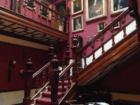 Sunnycroft staircase hall
