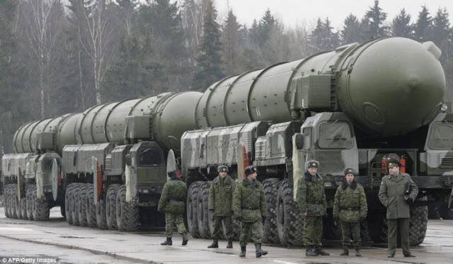 Rusia se prepara ante posible guerra nuclear contra EU
