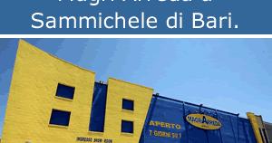 Risparmiello catalogo negozi magr arreda for Negozi di arredamento bari