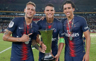 PSG vs Monaco 4-0 Video Gol & Highlights. Piala Super Prancis 2018