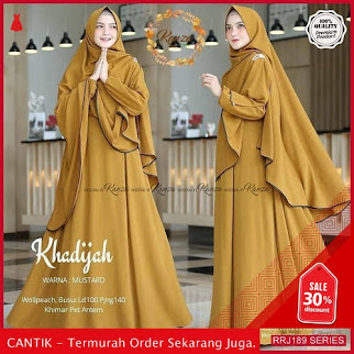 Jual RRJ189D204 Dress Fitria Syari Wanita Lh Terbaru Trendy BMGShop