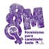 """""""Feminismo para cambiarlo todo"""". Manifiesto del Área de la Mujer de IU para el 8 de marzo de 2019."""