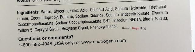 Neutrogena Liquid