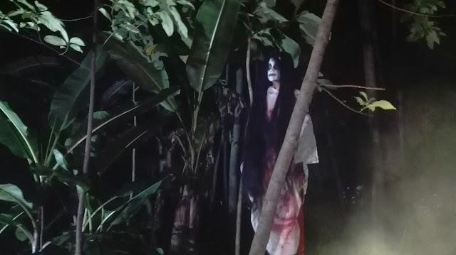 Penampakan Kuntilanak di Kecamatan Maleber Jadi Tontonan Warga