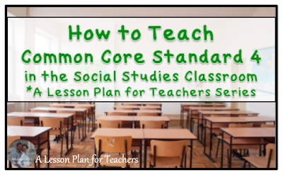 Teaching the Common Core Standard 4 in the Secondary Social Studies Classroom - Vocabulary