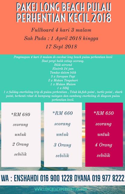 Pulau Perhentian 2018 , Pulau Malaysia 2018 , Pakej 4 hari 3 malam , Pakej Perhentian 2018