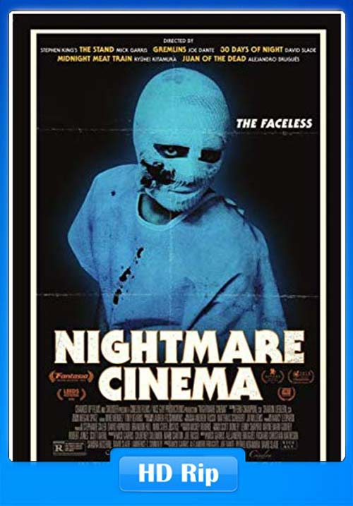 Nightmare Cinema 2019 English HDRip 720p x264 | 480p 300MB | 100MB HEVC