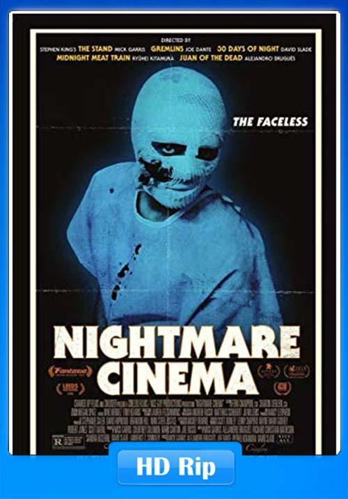 Nightmare Cinema 2019 English HDRip 720p x264 | 480p 300MB | 100MB HEVC Poster