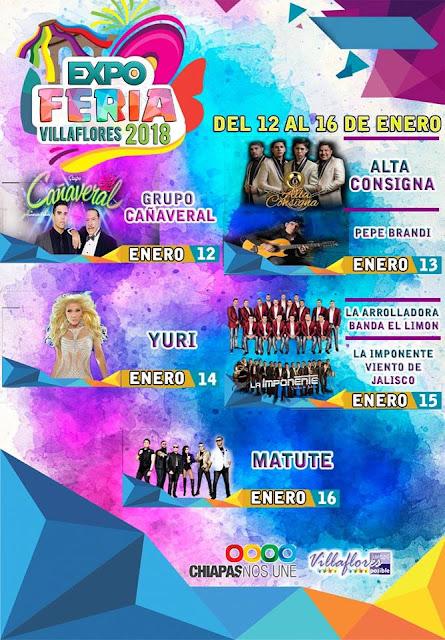 expo feria villaflores 2018