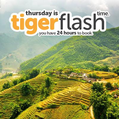 Khuyến mãi Tiger Air ngày 18-05-2017