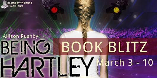 Allison Rushby's 'Being Hartley' Book Blitz: Excerpt & Giveaway