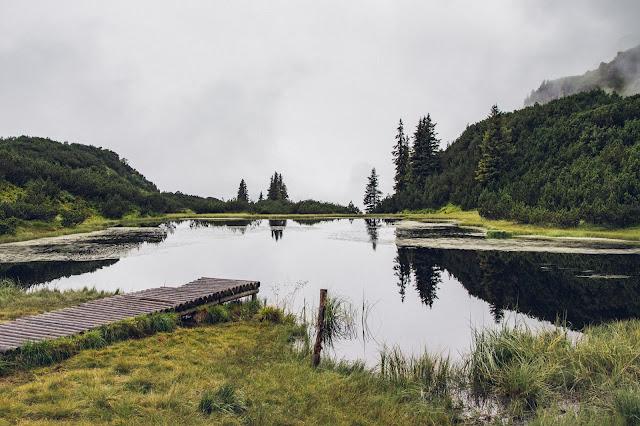 Wanderung zum Wiegensee ein echter Geheimtipp bei Regenwetter! Super Schlechtwetter Wanderung an der Grenze zwischen Vorarlberg und Tirol. Wandern Montafon Verwall 05