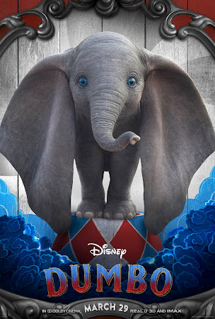 Poster Of Free Download Dumbo 2019 300MB Full Movie Hindi Dubbed 720P Bluray HD HEVC Small Size Pc Movie Only At worldfree4u.com