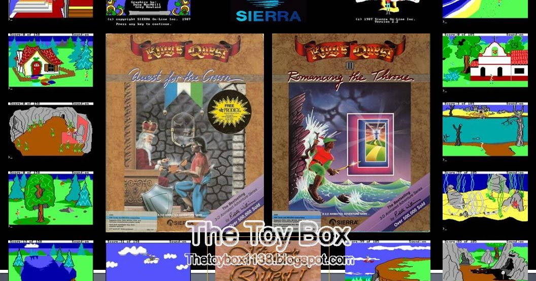 The Toy Box: Sierra Adventure Games (Sierra)